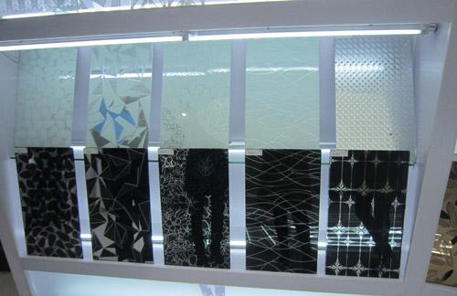 玻不璃-花纹玻璃展厅