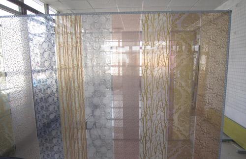 玻不璃-夹丝夹绢玻璃展示