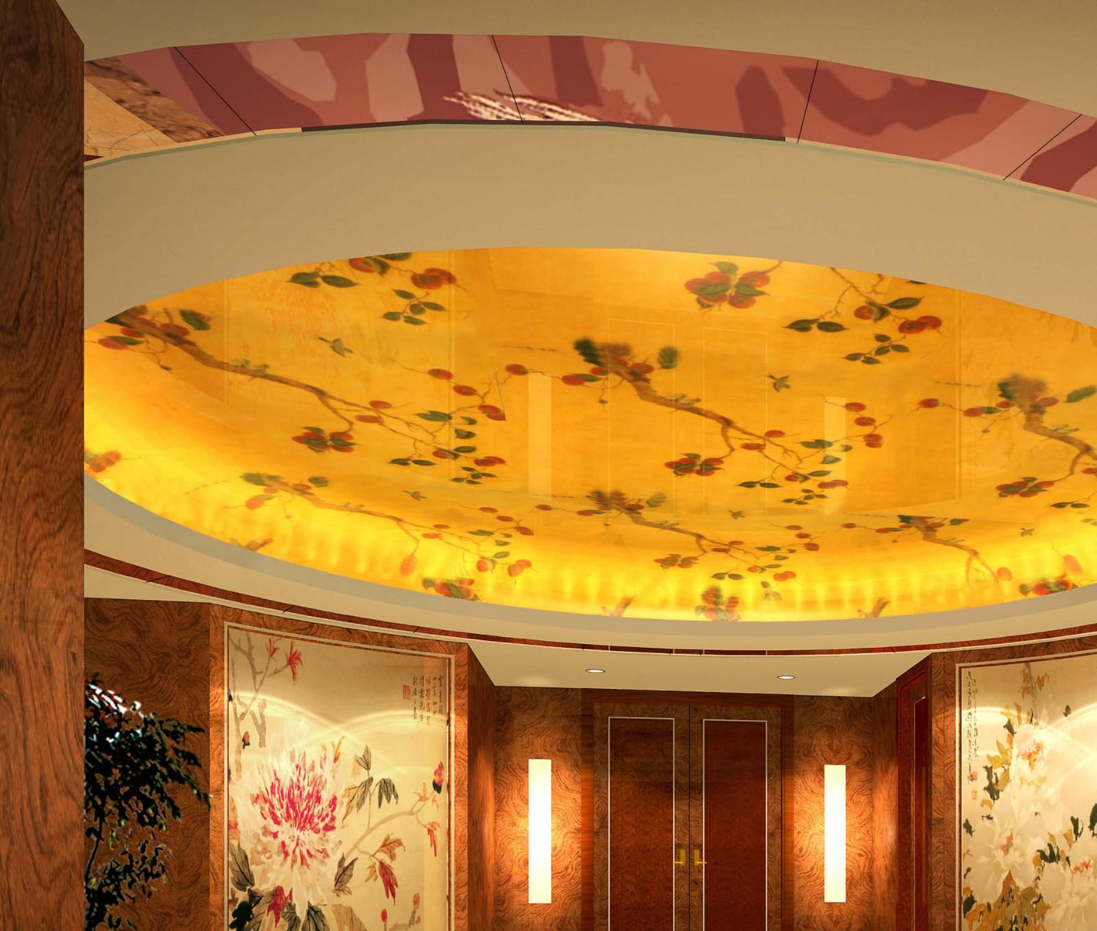 玻不璃-客厅吊顶玻璃