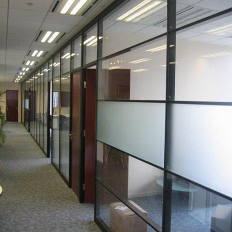 玻不璃-白玻磨砂玻璃 办公室工厂10m隔断10mm